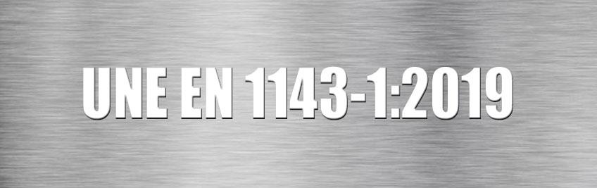 Armeros homologados UNE EN 1143-1:2019