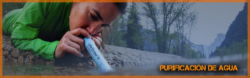 A purificação de água