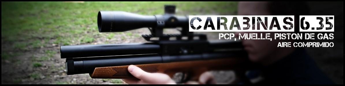 Carabinas calibre 6.35 mm