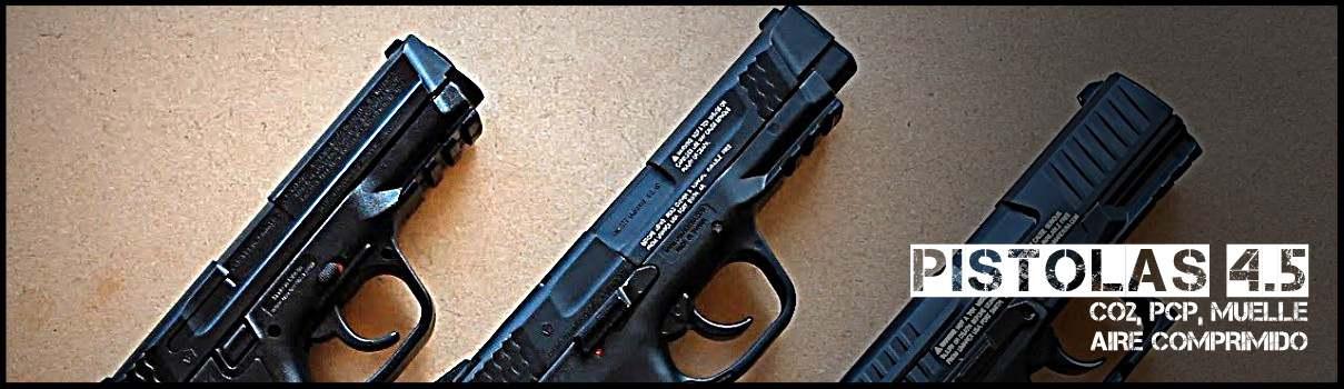 Pistolas 4.5