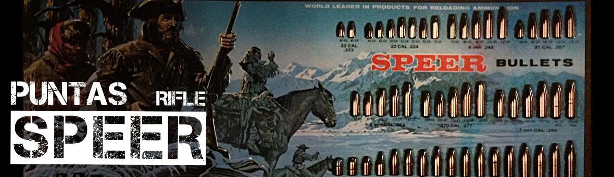 Puntas rifle Speer