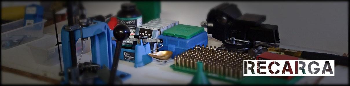Recarga munição