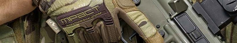 Sección de guantes militares tácticos