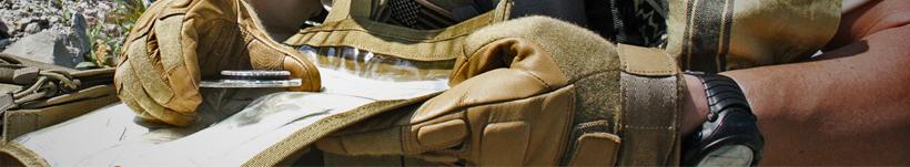 Los guantes tácticos Blackhawk