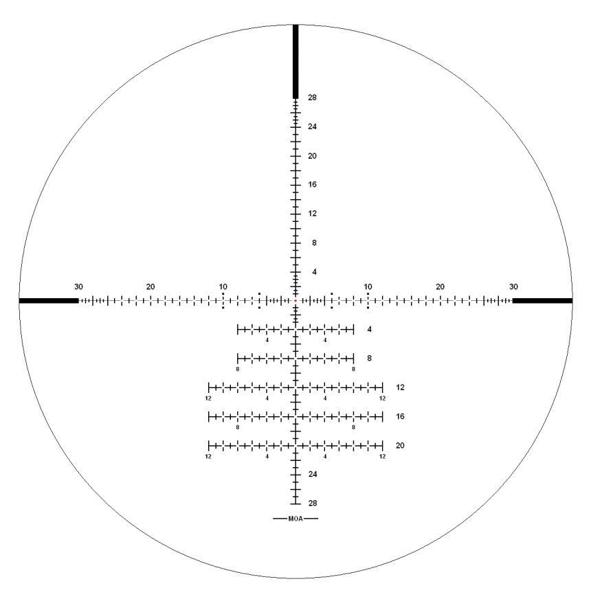 Retículo MP-EXTREME X1